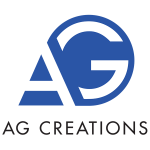 ag creations logo with name